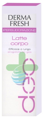 Dermafresh Linea Ipersudorazione Efficace a Lungo Latte Corpo no Gas 100 ml