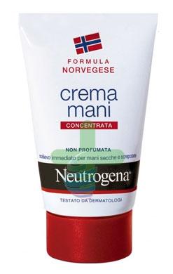 Neutrogena Linea Mani Crema Concentrata Nutriente Senza Profumo 75 ml