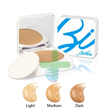 BioNike Linea Acteen Make Mat SPF50 Fondotinta Compatto Crema 9 ml 3 Dark