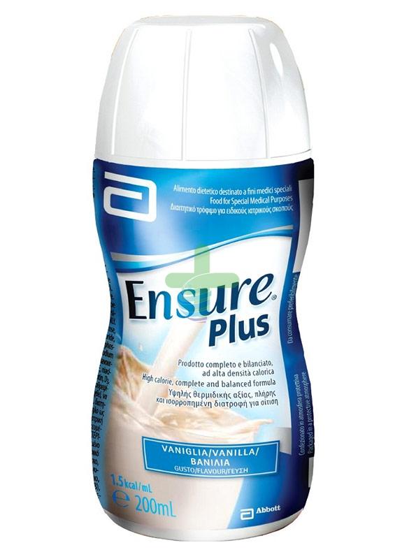 Abbott Linea Nutrizione Domiciliare Ensure Plus Integrazione 4x200 ml Vaniglia