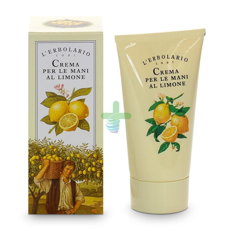 L'Erbolario Linea Mediterranea Limone Crema Nutriente Mani ed Unghie 75 ml