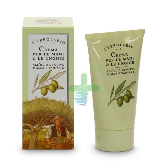 L'Erbolario Linea Mediterranea Olivo Crema Nutriente Mani ed Unghie 75 ml