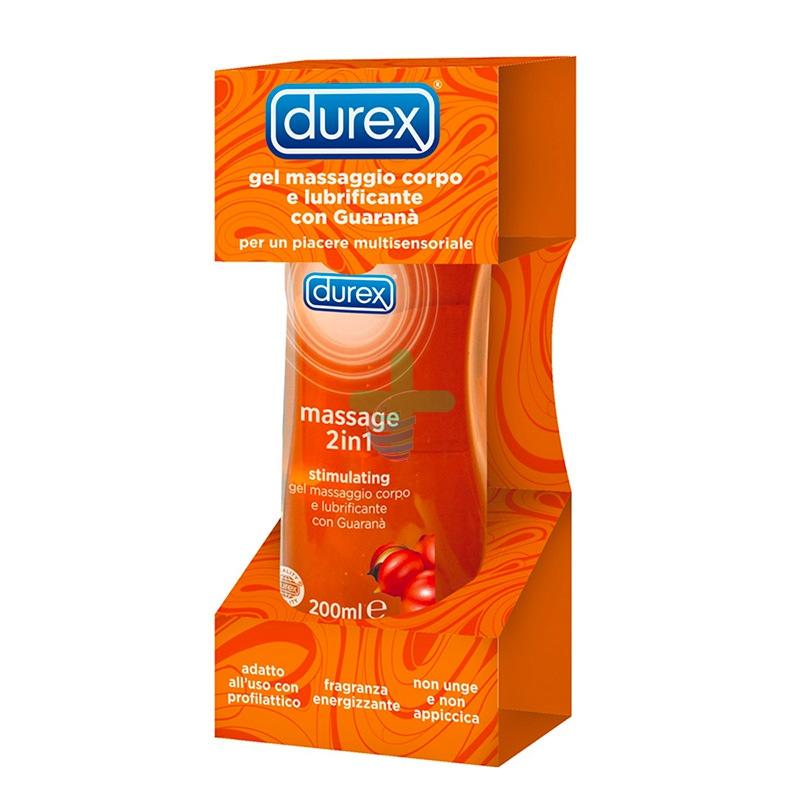Durex Linea Lubrificanti Stimulating Gel Massage 2 in 1 Gel Intimo 200 ml