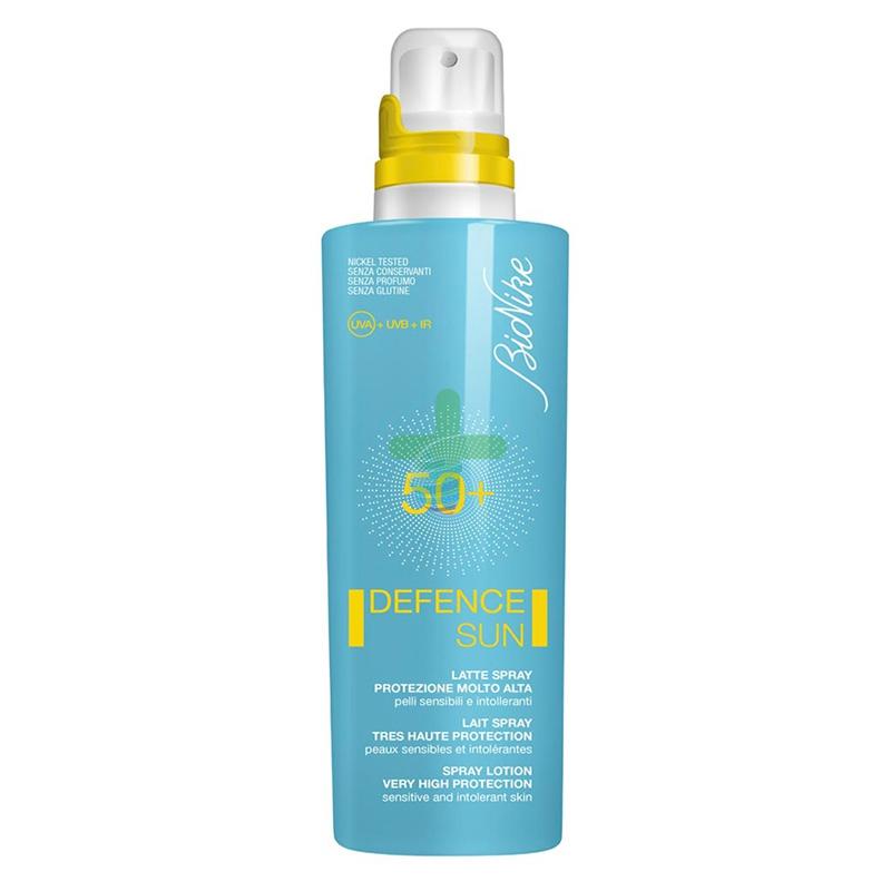 BioNike Linea Defence Sun SPF50+ Spray Invisibile Corpo Pelli Sensibili 200 ml