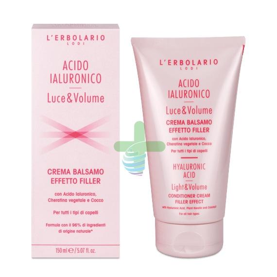L'Erbolario Linea Luce&Volume Acido Ialuronico Balsamo Effetto Filler 150 ml