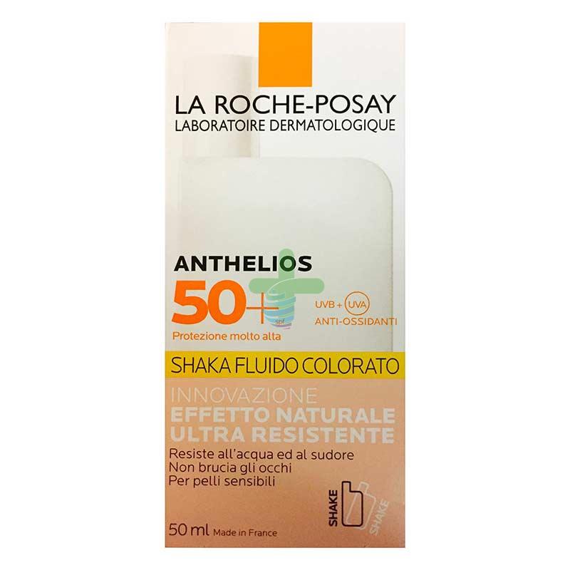 La Roche Posay Linea Anthelios SPF50+ Shaka Fluido Colorato Naturale Viso 50 ml